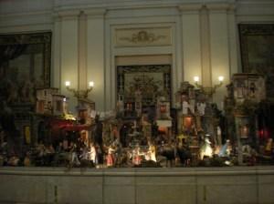Belen del Palacio Real de Madrid.
